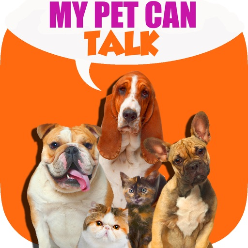 +My Pet Can Talk Videos - Free Virtual Talking Animal Game iOS App