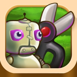 2048 - Rock Paper Scissors Dinosaurs and Robots Match Game Free