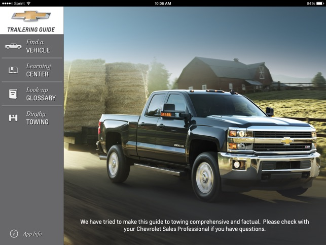 chevrolet trailering on the app store rh itunes apple com Lifted Chevy Trucks 2014 chevy silverado trailering guide