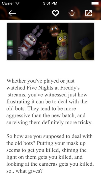 Guide for Five Nights at Freddy's 4 free - fnaf 4 Tips, Strategy & Tricks screenshot-3