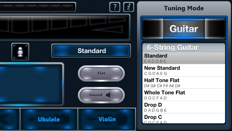C Tuner - The accurate and easy-to-use tuner for guitar, bass, ukulele, violin and pipe screenshot-3