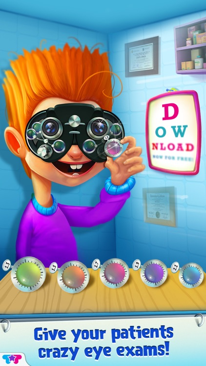 Crazy Eye Clinic - Doctor X Adventures screenshot-4