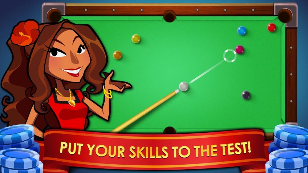Pool Trick Shots – Billiard Drills & Snooker Challenge Game Cheat Codes