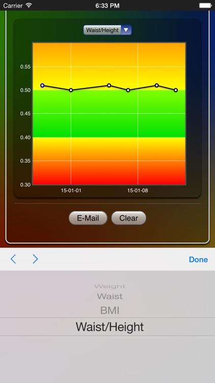 Weight Chart screenshot-3