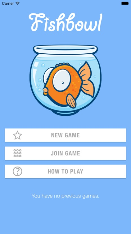Fishbowl Party Game