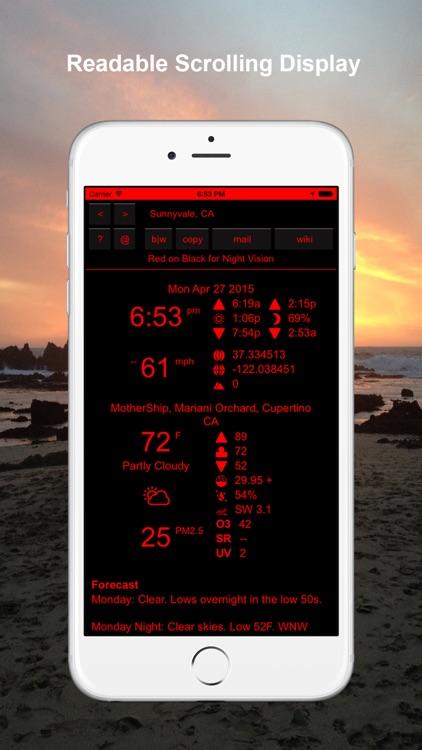Omega Tau Weather