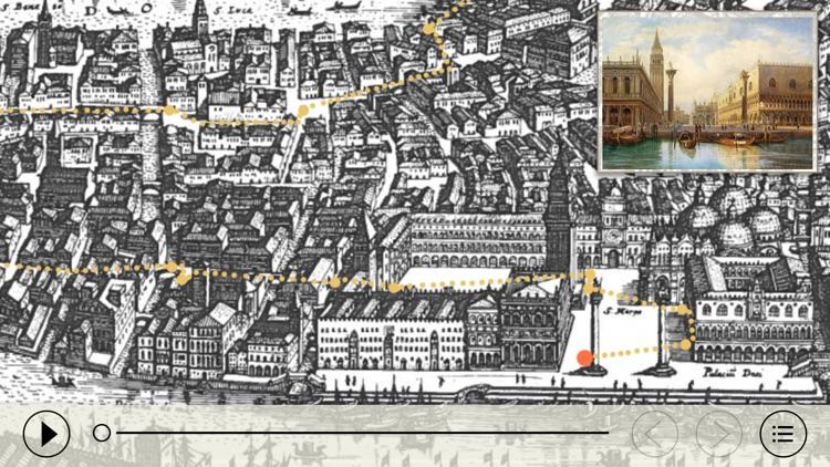 Венеция - большая прогулка. Аудиогид с альбомом фотографий маршрута и картой города
