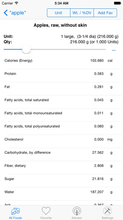 Nutrition Complete screenshot-0