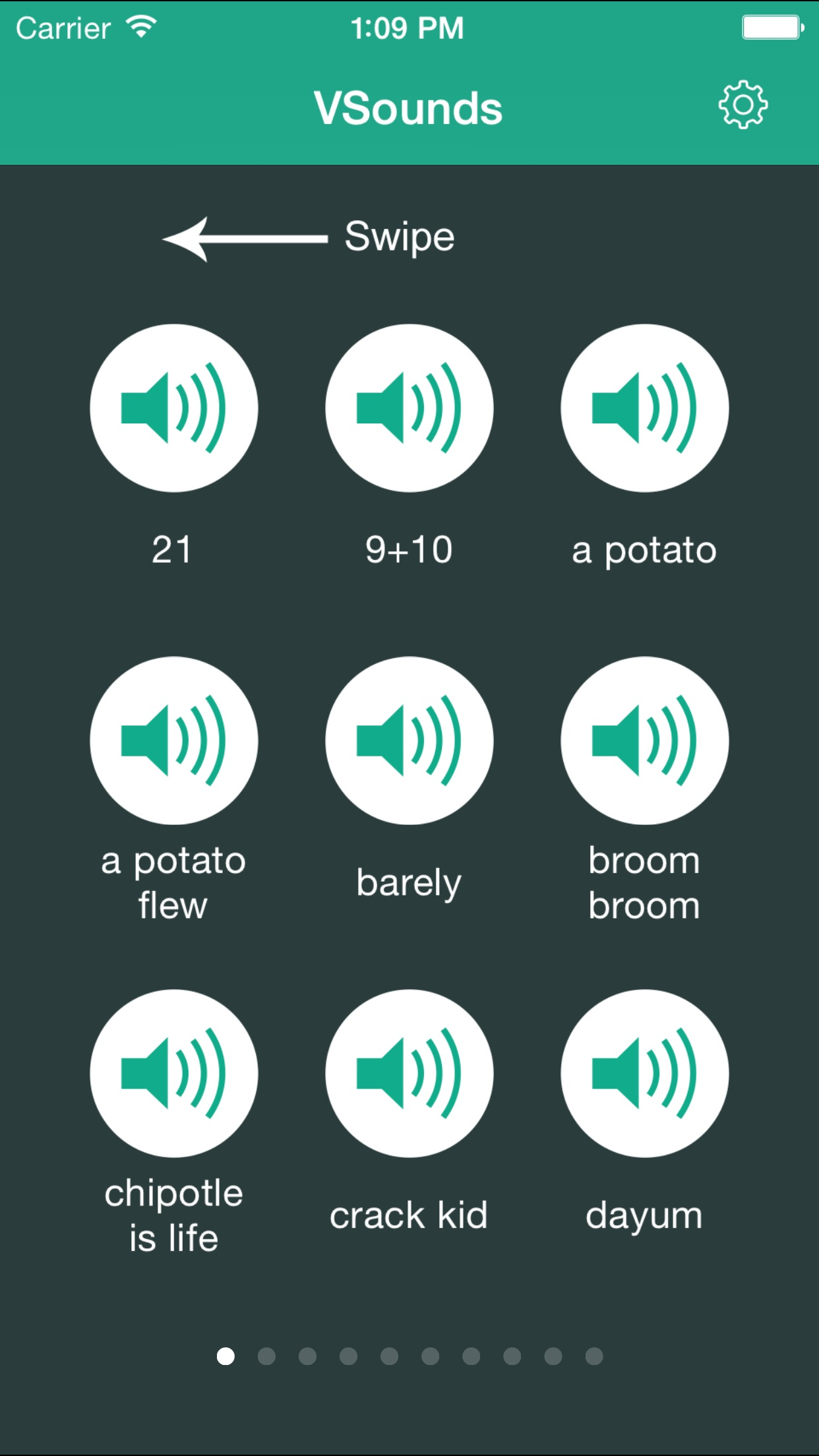 VSounds for Vine Soundboard - Soundboard for Vine & Dubsmash Free Screenshot