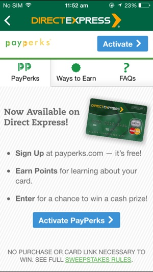 Direct Express® on the App Store