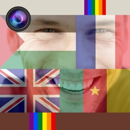 Picture Flag - Change Your Profile Picture To Your Country Flag or rainbow photo filter