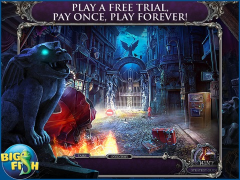 Mystery Trackers: Blackrow's Secret HD - A Hidden Object Detective Game screenshot one