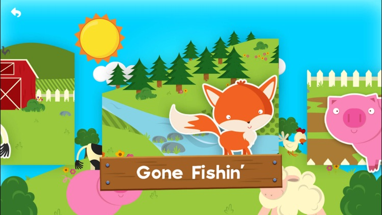 Farm Story Maker Activity Game for Kids and Toddlers Free screenshot-3