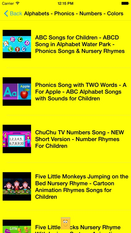 ABC 123 Nursery Rhymes and Songs screenshot-4