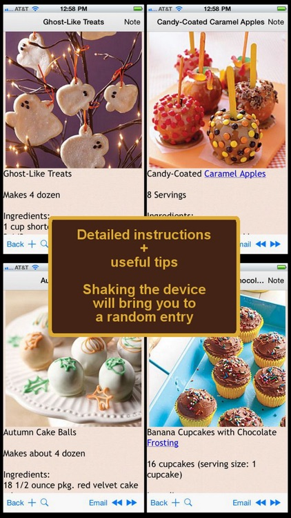 400 Desserts & Snacks Recipes screenshot-3