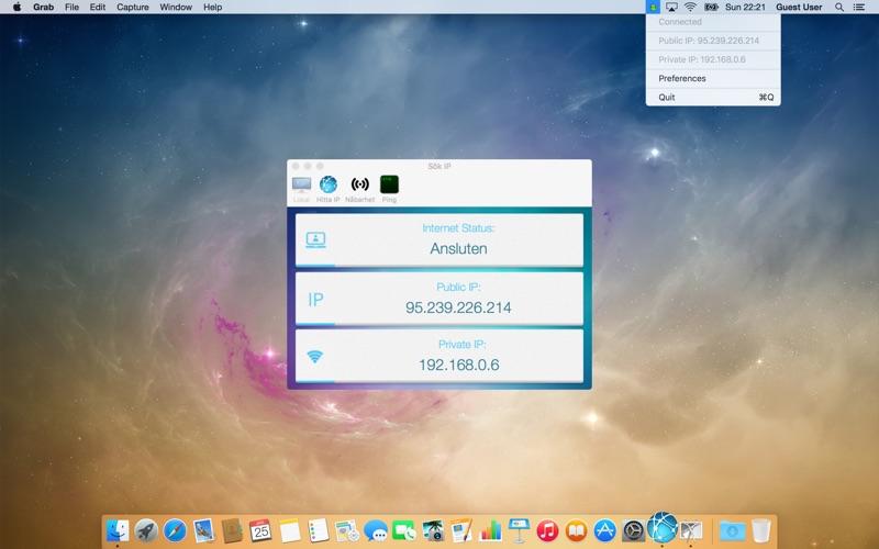 Sök IP på PC