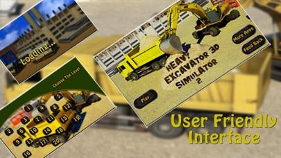 掘削機シミュレータ3D - 建設クレーンに本当の駐車シミュレーションゲームをドライブのおすすめ画像2