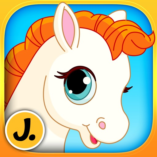 Beautiful Ponies and Cute Unicorns - puzzle game for little girls and preschool kids