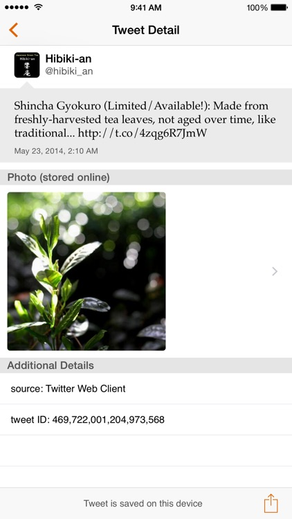 Tweet Keeper – Save, Search, and Export Twitter Posts screenshot-4