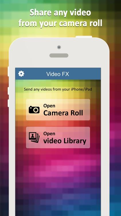 Video FX Editor – Video Filters & Effects screenshot-3