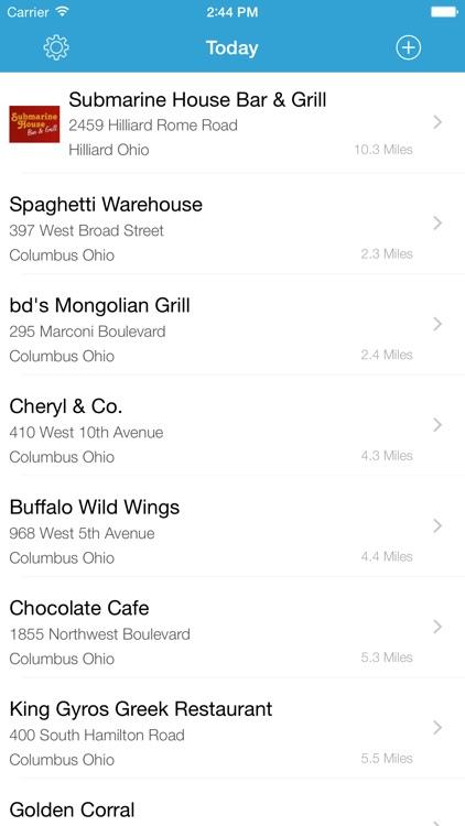 Kids Eat Free - Restaurant Finder screenshot-4
