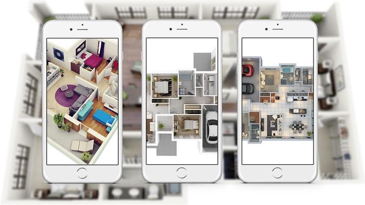 Apartment Design Ideas - Includes Floor Plans screenshot-3