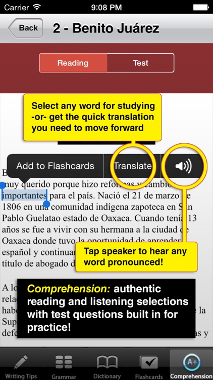 High School Spanish - Best Dictionary App for Learning Spanish & Studying  Vocabulary by Common Ground International