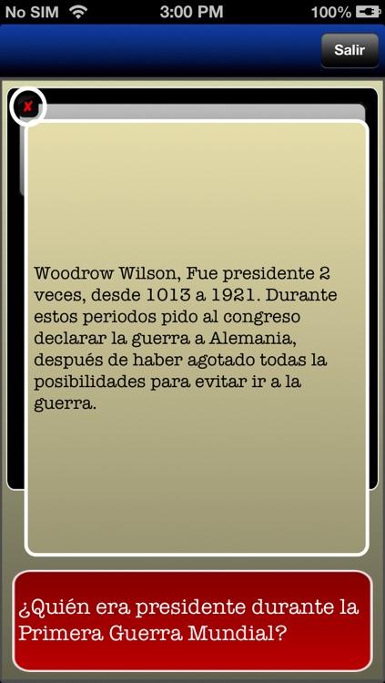 Examen de ciudadanía en español screenshot-4