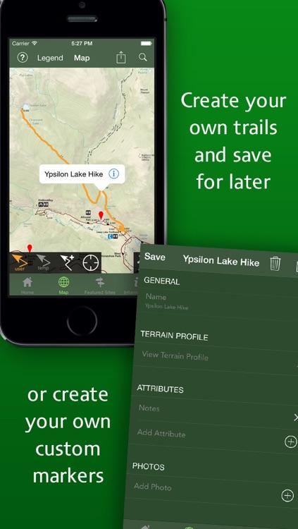 Equator Maps: Rocky Mountain National Park screenshot-4