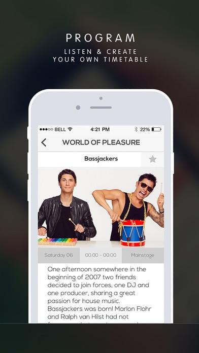 Festive iPhone app afbeelding 4