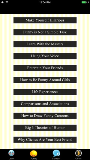 How to be funny around girls