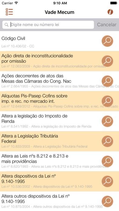Vade Mecum Pro Direito Brasil Скриншоты3