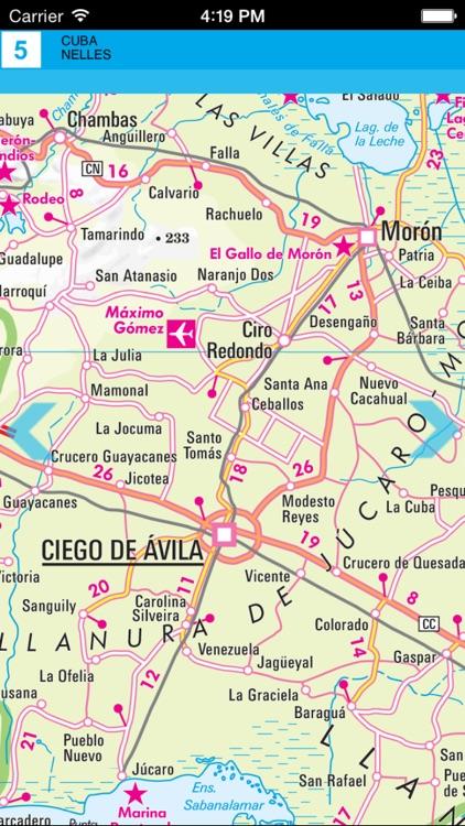 Cuba. Tourist map screenshot-3