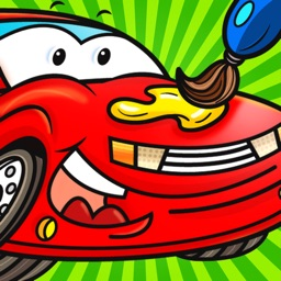 Color Mix HD(Cars): Learn Paint Colors by Mixing Car Paints & Drawing Vehicles for Preschool Children