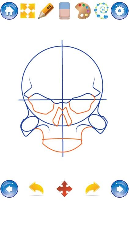 How to Draw Skulls screenshot-3