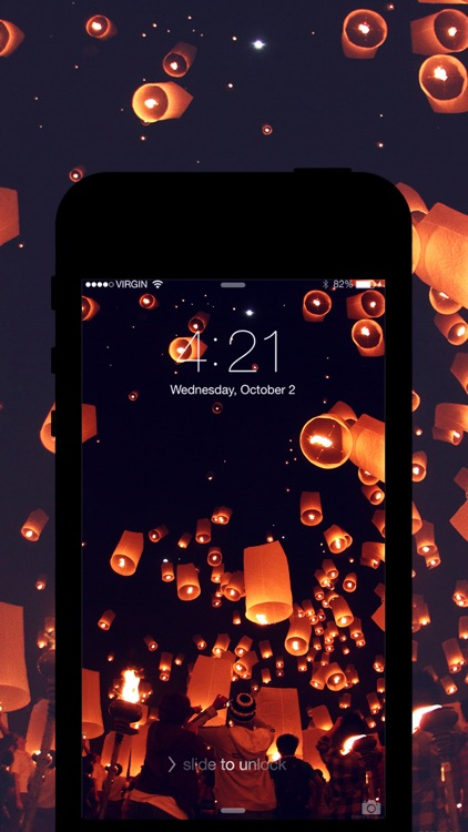 Pro Screen 360: Lockscreen Wallpapers & Theme Backgrounds for iOS 8 & iPhone 6 Plus - Free! screenshot-4
