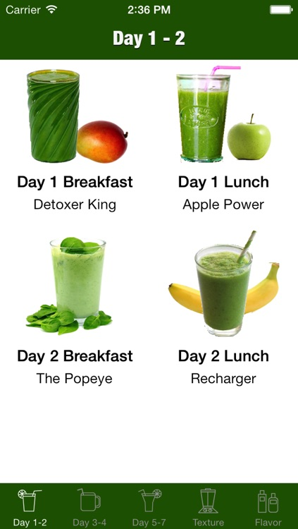 7 Day Green Smoothie Challenge screenshot-0
