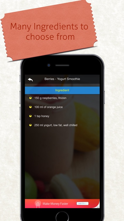 Smoothies Recipe screenshot-3