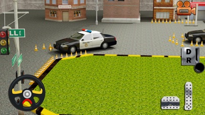 Real Cop Car Parking Simulator – City Police Truck SUV Driving Test Run 3D Game 3