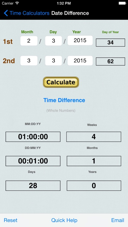Hours, Minutes & Seconds Calculator with Date Diff screenshot-4
