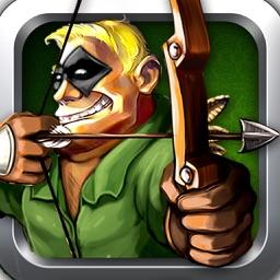 Green arrow! - archery shooting game