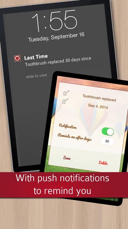 Last Time Memory Help: Remember it! screenshot-3
