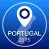 Portugal Offline Mapa + Guia da Cidade Navigator, Atrações e Transportes