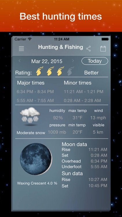Moon Phase Calendar . screenshot-2