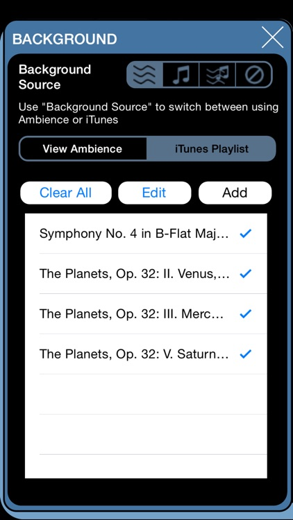 Brain Wave Dream Inducer ™ - 5 Dream Inducing Binaural Brainwave Entrainment Programs with Ambient Nature Sounds and iTunes Music screenshot-4