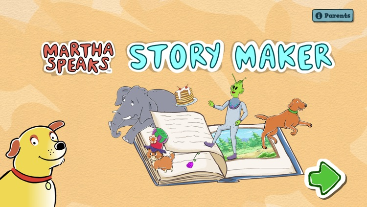 Martha Speaks Story Maker