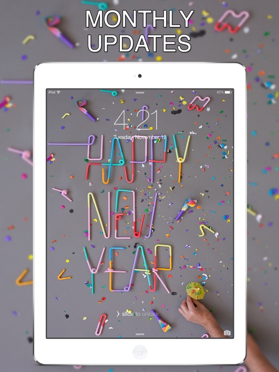 Happy New Year 2017 Wallpapers for iPad