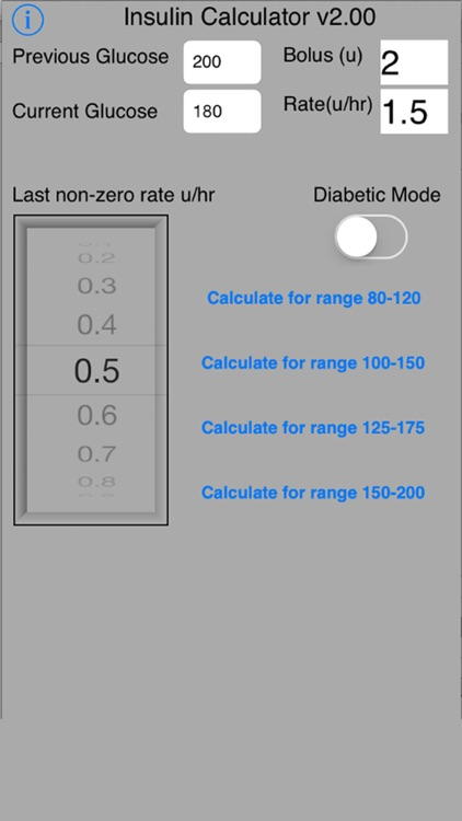 Insulin Protocol Calculator