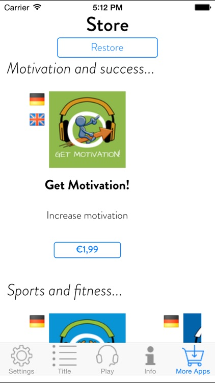 Get Moving! Motivate Yourself to Exercise by Hypnosis screenshot-4