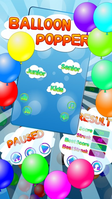 Screenshot #1 pour Balloon Popper - for Kids and Adults